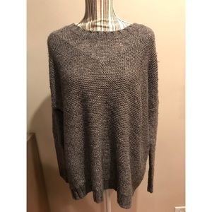 Madewell Wallace Sweater Large Gray